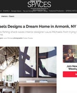 Laura Michaels Designs a Dream Home in Armonk, NY