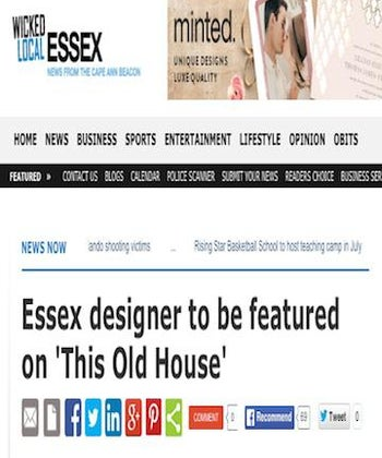 Essex Designer To Be Featured On 'This Old House'