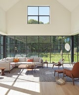 Traditional and modern are in perfect balance at Roger Ferris' Grove House