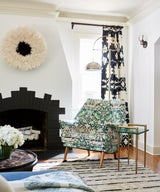 Empty Nesters Downsize to a Cheery, Patterned California House