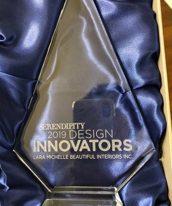 Lara Wins Serendipity Magazine 2019 Innovator Awards - Best Interior Design, Creative Use of Lighting