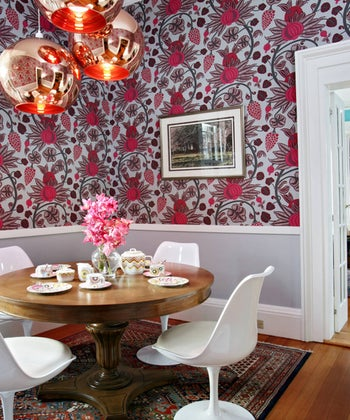 Panoramic Wallpapers Can Transform Even a Kitchen Into an Art Gallery