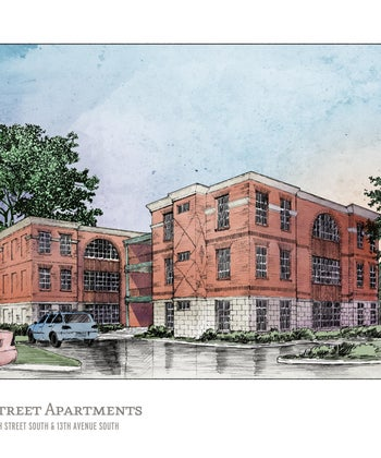 $1.8 million 15th Street Lofts planned for Birmingham's Phelan Park near UAB