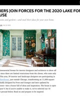 39 Designers Join Forces For The 2020 Lake Forest Showhouse