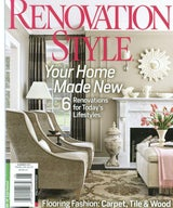 Published in the Spring 2011 issue of Renovation Style