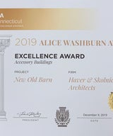 """Winner of the """"2019 AIA Alice Washburn Award for Accessory Buildings."""""""