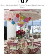 Boston Designers Outfit Creative Tables to Benefit Heading Home