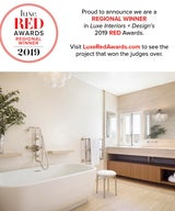 Presidio Terrace wins Luxe Red Award for Best Bathroom