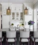Elle Decor: 20+ Polished Kitchens with Dark Wash or Black Kitchen Islands