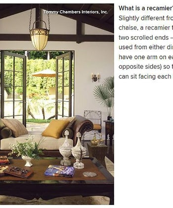 Houzz: What's the Difference between a Chaise, Divan, Daybed & Settee?