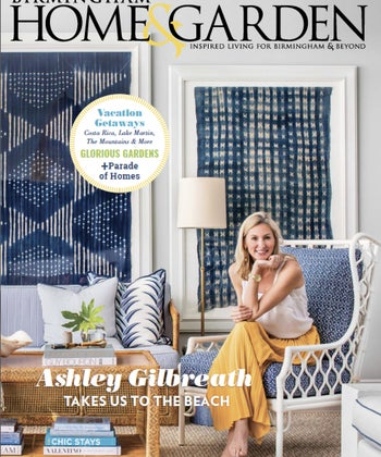 Ashely Gilbreath on the cover of BHG