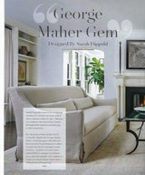 Glencoe Compass Magazine feature article showcasing the interior design of a local George Maher home