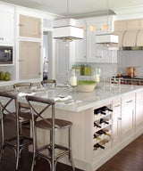 Traditional Home Magazine - Showhouse Kitchen with Great Use of Texture