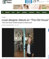 Local Designer Debuts on 'This Old House'