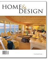 Home & Design Magazine Cover and Feature