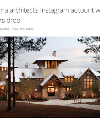 This Alabama architect's Instagram account will make HGTV lovers drool