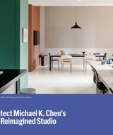 Architectural Digest: Tour Architect Michael K. Chen's Colorfully Reimagined Studio