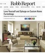 Love Yourself and Splurge on Custom Home Furnishings