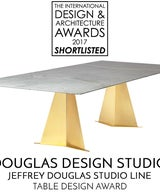 Finalist for International Design and Architecture Award for Table Design