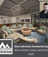 2020 Andyz Design Award - Best Individual Residential Space