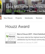 Lara Michelle Wins Houzz Award