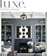 Luxe Interiors + Design Chicago - Cover and Feature