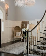 30 Entryways with Dramatic Lighting to Give Your Guests a Warm Welcome