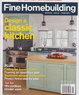 "Fine Home Building ""A Kitchen Built on Tradition"""
