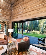 A Log Cabin In Woody Creek Springs New Life As A Fishing Cabin Retreat
