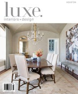 LUXE INTERIORS + DESIGN, JULY/AUGUST 2017