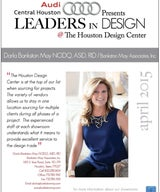 LEADERS IN DESIGN AT THE HOUSTON DESIGN CENTER