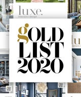 Luxe Interiors + Design Gold List 2020