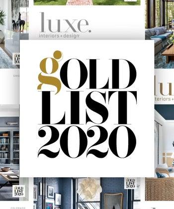 Luxe Interiors + Design Gold List 2020