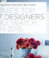 Selected by Rue Magazine as a Top Designer to Watch in 2015!