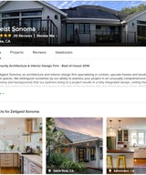 Zeitgeist Sonoma of Santa Rosa, California Receives Best Of Houzz 2015 Award