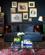A Modern Condo Filled with Art & Antiques