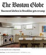 Basement kitchen in Brookline gets revamp