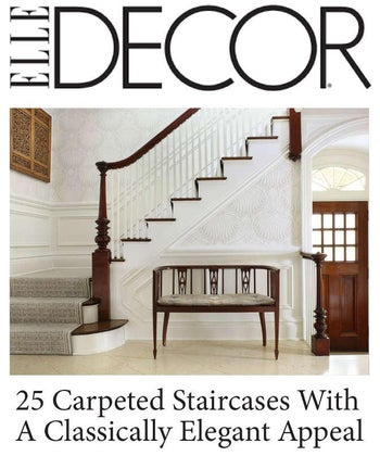 25 Carpeted Staircases With A Classically Elegant Appeal