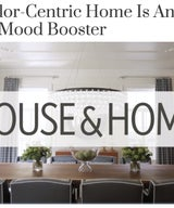 Home Tour - This Color-Centric Home Is An Instant Mood Booster