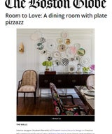 Room to Love: A dining room with plate pizzazz
