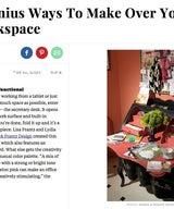 Genius Ways to Makeover Your Workspace