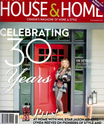 Celebrating 30 Years – The House & Home A-List