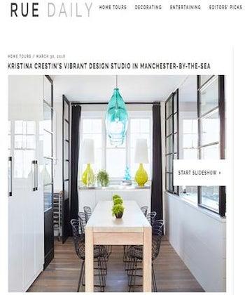 Kristina Crestin's Vibrant Design Studio