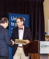 2016 Winner Corporate Leadership Award, Greenwich Chamber of Commerce