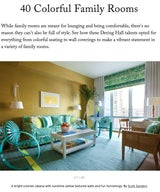40 Colorful Family Rooms
