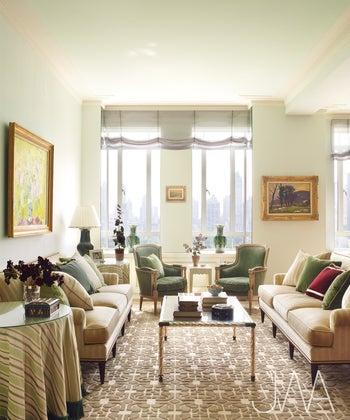 New York Apartment With Elegant British Style