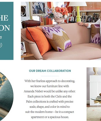 Amanda Nisbet for One Kings Lane Collection