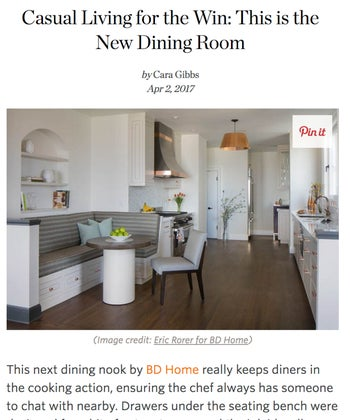 Casual Living For the Win: This is the new Dining Room