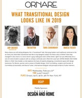 What Transitional Design Looks like in 2019. Panel Discussion at Ornare