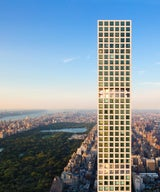 In Progress: A spectacular apartment with views forever in 432 Park Avenue.